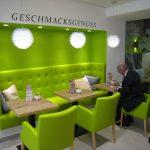 Bäcker Bachmeier Passau grüne Ecke, Sitzgelegenheiten