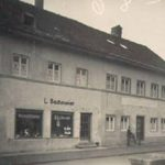Bäcker Bachmeier Landshuter Straße 1927