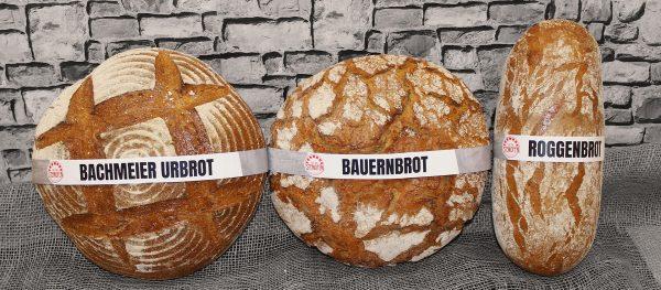 Unsere drei Brote aus dem Steinofen.
