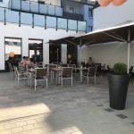 Bäcker Bachmeier Burghausen Sitzgelegenheiten draußen